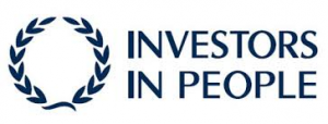 Logo with words Investors in People