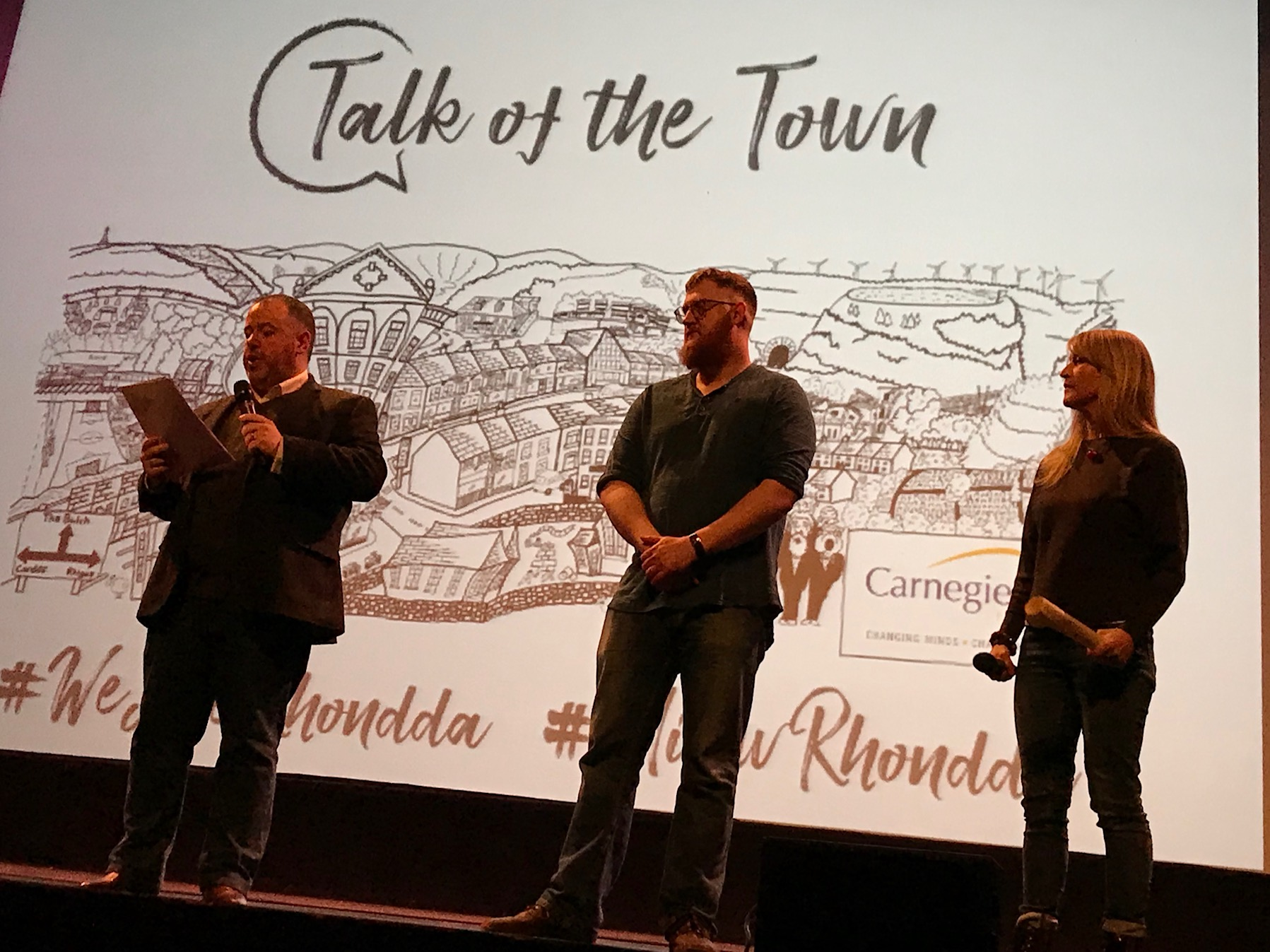 Treorchy Talk of the Town event