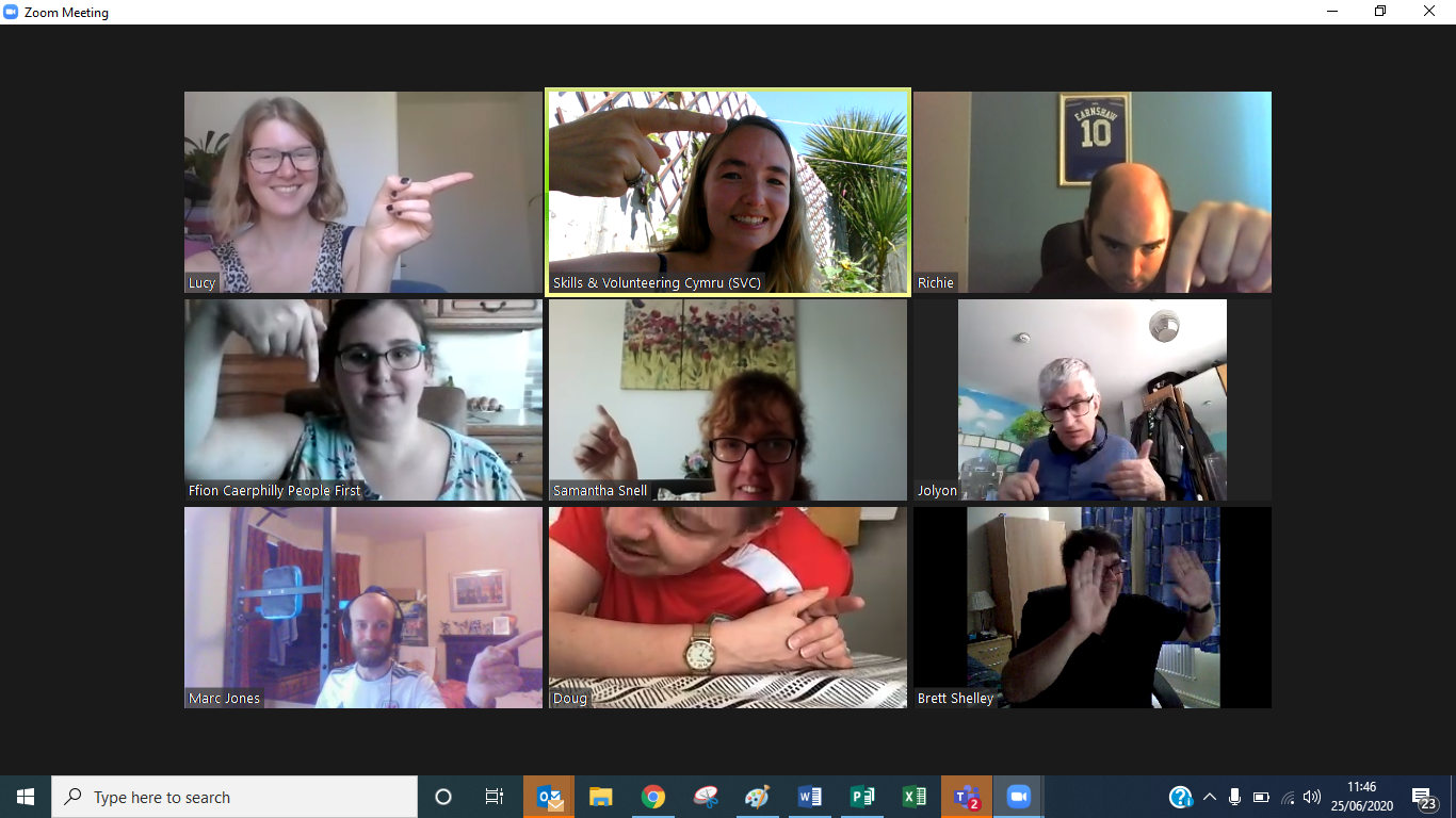 Screenshot of Innovate Trust Zoom session