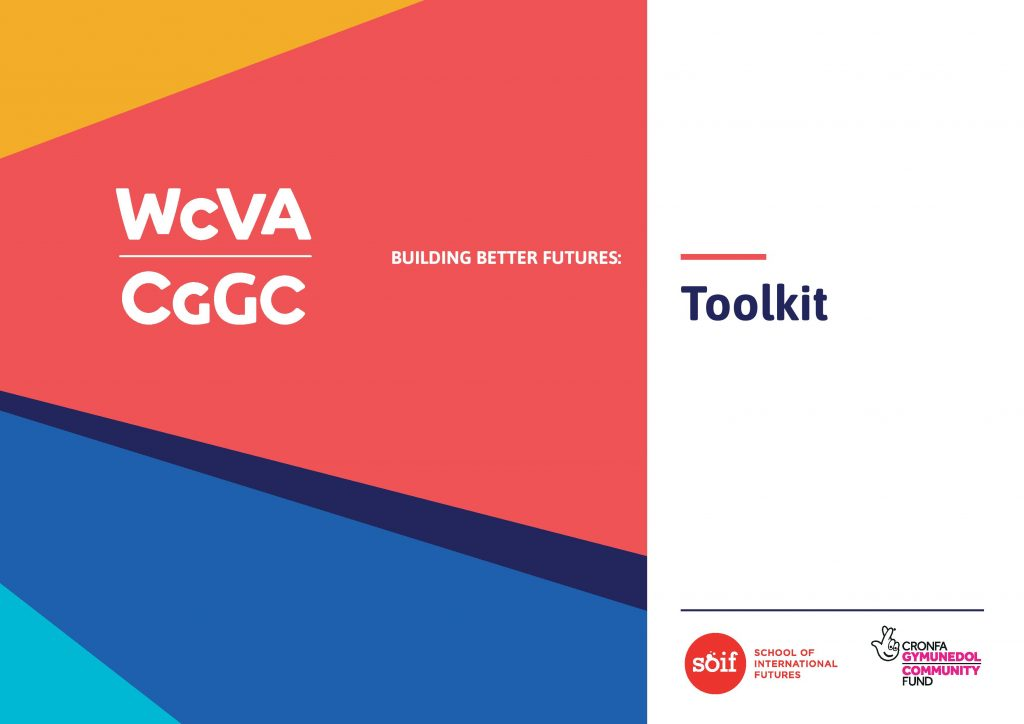 The front cover of WCVA's Building Better Futures toolkit