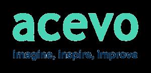 ACEVO logo with a transparent background
