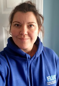icture of Claire Worrall, volunteer development officer at FLVC